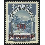 Ecuador A- 234 1952 Aéreo Regadío de Riobamba MH