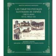 Tarjetas Postales ilustradas de España circuladas en el siglo XIX 2ª Edición