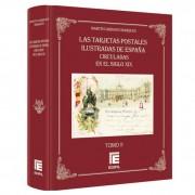 Tarjetas Postales ilustradas de España circuladas en el s. XIX Vol II Tapa Dura