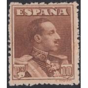 España Spain 323 ( 310/23 ) 1922/1930 Alfonso XIII Valor clave Sin Goma