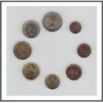 Francia 2015 Emisión monedas Sistema monetario euro € Tira