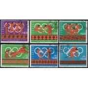 Ecuador MI- 1262/67 1966 Juegos Olímpicos Olympic games Mexico Usados