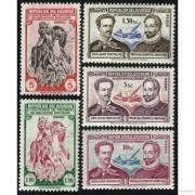 Ecuador A- 204/08 1949 4 Centenario de la Muerte de Cervantes Don Quijote MNH