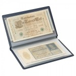 Lindner S818 Pocket album  for  bank notes and other documents