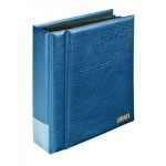 Lindner 1300PK-B Postcard album; Multi collect, blue