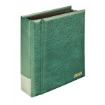 Lindner 1300PK-G Postcard album; Multi collect, green