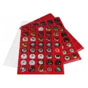 Lindner 3510P Bandeja terciopelo ECO Luxe paquete de 2