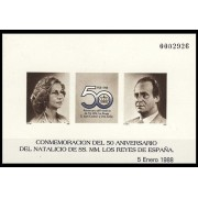 España Spain Prueba de lujo 15 1988 Natalicio Reyes 88