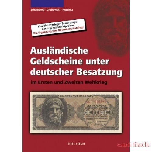 Lindner Ausländische Geldscheine unter deutscher Besatzung