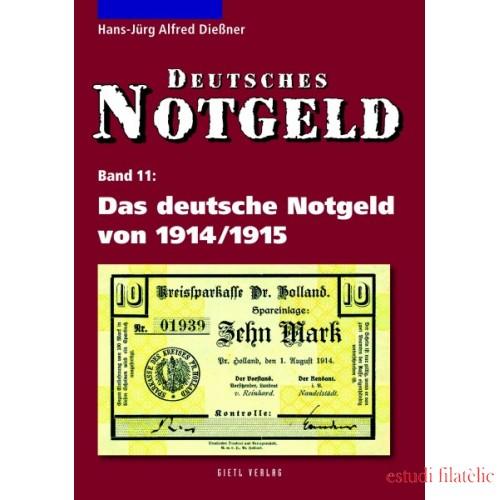 Lindner Das deutsche Notgeld von 1914/1915