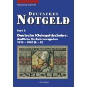 Lindner Deutsche Kleingeldscheine 1916-1922