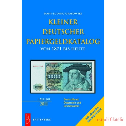 Lindner Kleiner deutscher Papiergeldkatalog