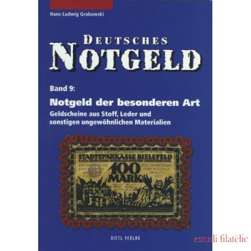 Lindner Notgeld der besonderen Art- Geldscheine aus Stoff