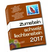 Catálogo Zumstein Schweiz/Liechtenstein Briefmarken-Katalog 2017