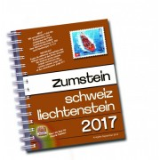Catálogo Zumstein Schweiz/Liechtenstein Briefmarken-Katalog 2017, mit Spiralbindung