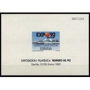 España Spain Prueba de lujo 11 1987 Sevilla Expo 92