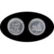 ESPAÑA SPAIN 1992 Moneda 200 ptas Plata  ( sin estuche )