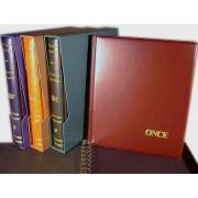 Álbum ONCE 270X320 Granate 4 Anillas Safi