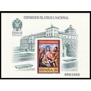 España Spain Prueba de lujo 19 1989 1ª tirada Toledo  Exfilna 89
