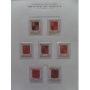 Coleccion Collection Orden de Malta Oridine di Malta 1966 - 1991 MNH