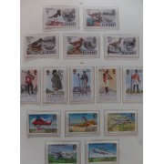 Colección Collection Alderney 1980 - 1989 MNH