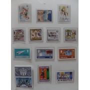 Colección Collection Gibraltar 1980 - 1989 MNH