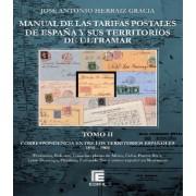 Edifil Manual Tarifas Postales España y ultramar 1850 - 1900
