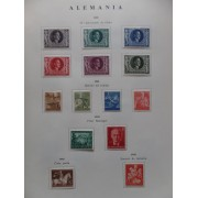Colección Collection Alemania Imperio Reich  Alemania Oriental DDR
