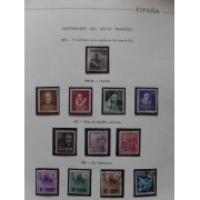 Colección Collection España 1950/2000 1083 1090 1124/25 sellos usados