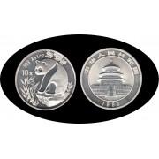 China 1993 1 OZ onza de plata Oso Panda Sylver Ag