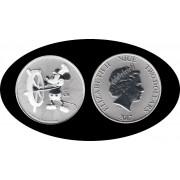 Niue 2017 1 onza Plata 2 $ 999 Ag Silver Disney Mickey Mouse