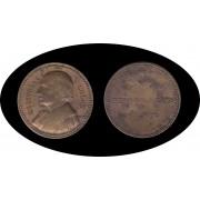 España Spain 1885 Medalla Cristobal Colón Columbus Unión Iberoamericana  Madrid