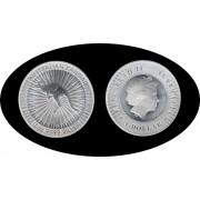 Australia 2017 1oz 1$ Canguro Plata Silver