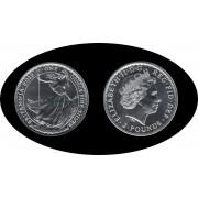 Britania Britannia 2012 1 oz  Plata Silver