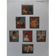 Colección Collection Desnudos Nudes 1948 - 1977 MNH