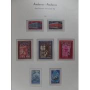 Colección Collection Andorra Andorre Francesa 1932 - 2001