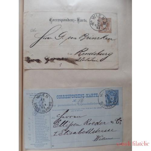 Colección Collection Enteros Postales Mundial