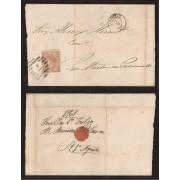 España Carta Nº 96 Sevilla a San Martín de Provençals (Barcelona)