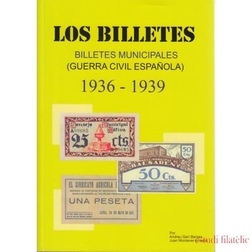 Catálogo Billetes Municipales Guerra Civil española 1936 - 1939