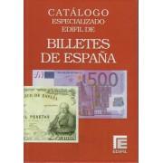 Catálogo Especializado Edifil Billetes de España 1780 - 2017