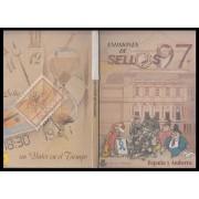 Libro Oficial Correos España y Andorra 1997 Adhesivo Lomo