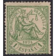 España Spain 150F 1874 Falso Alegoría de la Justicia MH