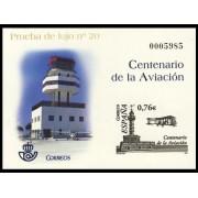España Spain Prueba de lujo 82 2004 Centenario de la Aviación
