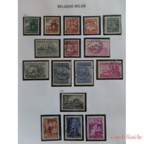 Colección Collection Bélgica Belgique 1849 - 1951