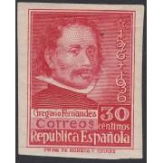 España Spain 726 1937 Gregorio Fernández Sin dentar MNH