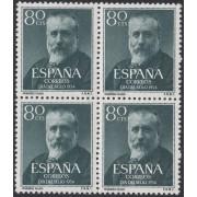 España Spain 1142 BL.4 1954 Menéndez Pelayo  MNH