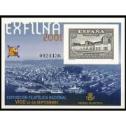 España Spain Prueba de lujo 75 2001 Vigo Exfilna 2001