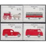 Upaep Portugal 1054/55 1994 Carreta Vagón Furgoneta Mercedes y Volkswagen horse car MNH