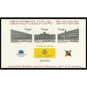 España Spain Prueba de lujo 78 2002 Exfilna 2002 Salamanca