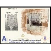 España Spain Prueba de lujo 72 2000 Exfilna 2000